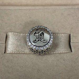 Pandora Texas cowboy Charm Bracelet Jewelry